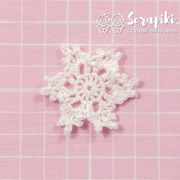 1550KN, Snowflake white 4cm