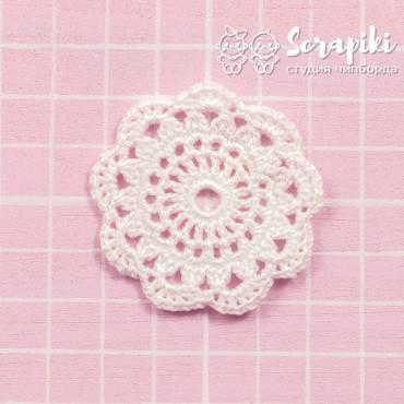 1553KN, White mini napkin 5cm