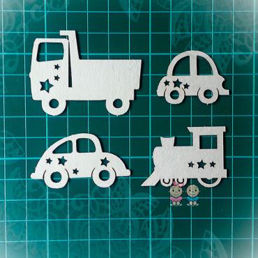 Т015, Set 'Children's cars'