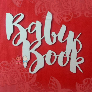 BabyBook lettering