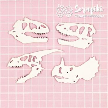 1693LI, Dinosaur Skull Set