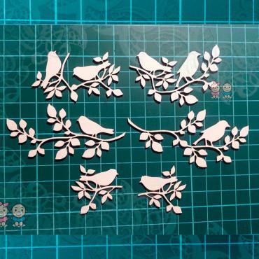G013, Birds on a Branch Set