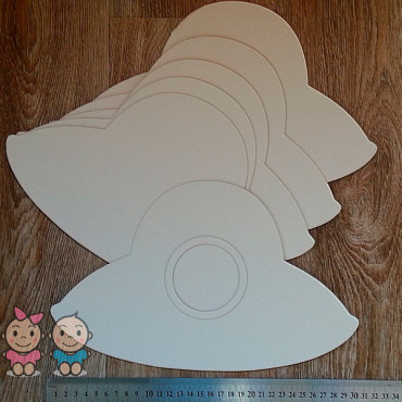 A7, Album blank Flying Saucer (Large), 6 sheets