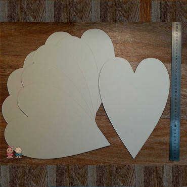 ZA13, Blank for album Heart (Large), 6 sheets