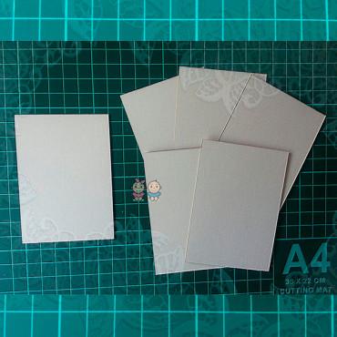 ZA20, Set of blanks for ATC cards, 6pcs