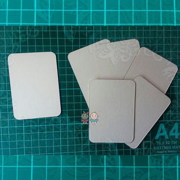 ZA21, Set of blanks for ATC cards, 6pcs