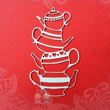 K010, Chipboard 'Teapots'