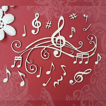 М004, set 'Musical'
