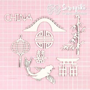 1688MI, Set 'CHINA'