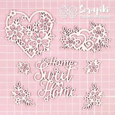 1697MI, 'Home Sweet Home' Set