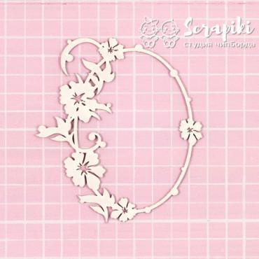 1645FR, Floral Frame