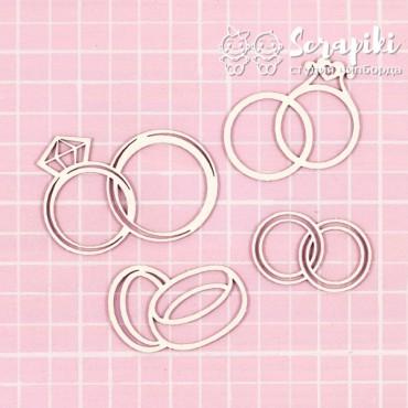 1648WE, Wedding Ring Set