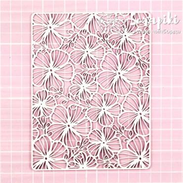 1664BA, Background 'Flax Flowers'